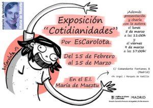 2018 Cotidianidades EsCarolota EI María de Maeztu
